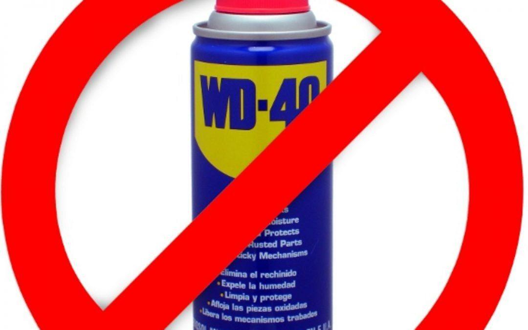 WD40 – um caro engano?